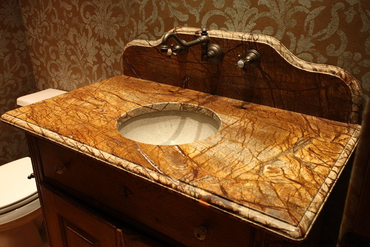 bathroom granite countertops gallery