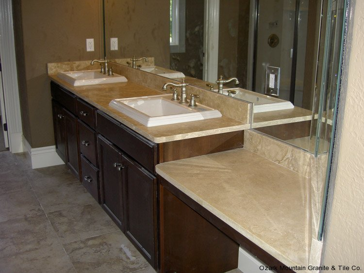 Bathroom granite countertops gallery for Bathroom countertops
