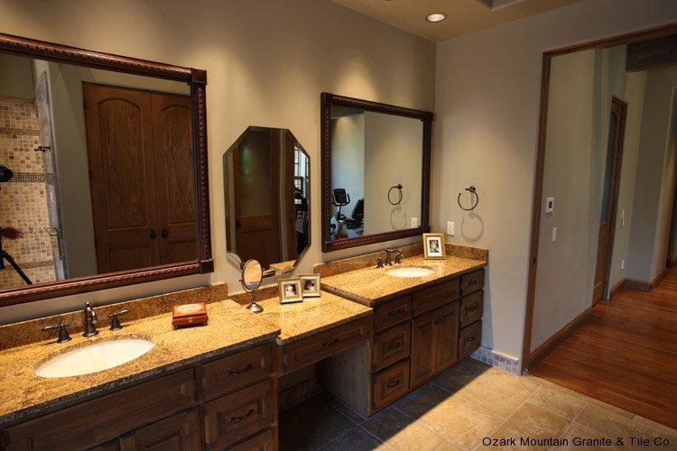 Bathroom Granite Countertops Gallery