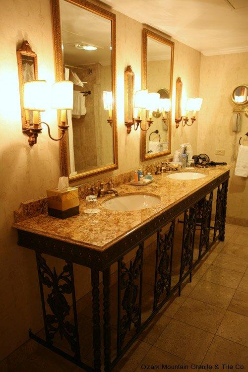 Bathroom granite countertops gallery - Granite countertops for bathroom ...