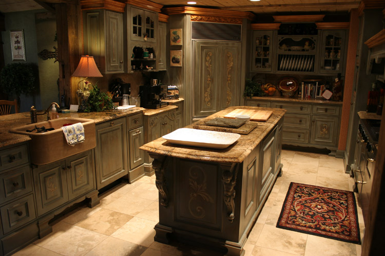Granite countertops, Tile flooring, Custom Cabinets in Springfield, MO