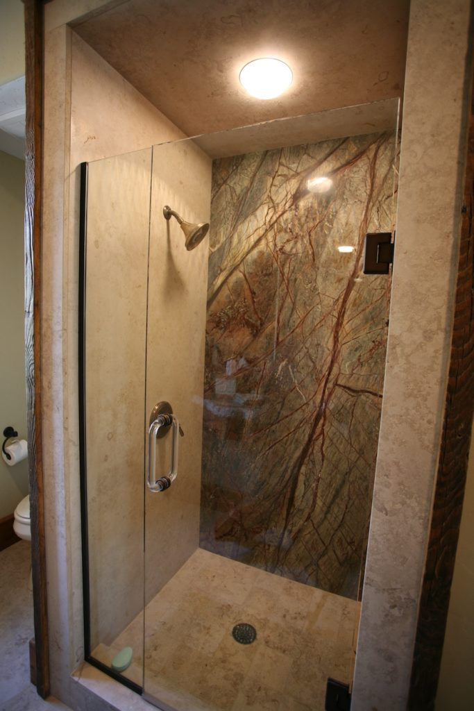 slab shower